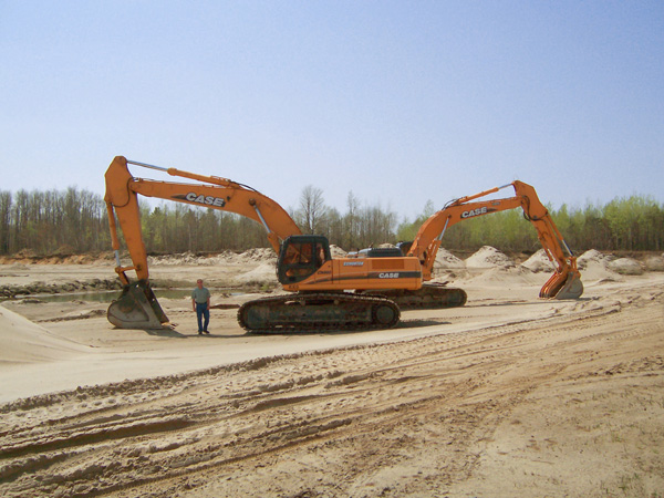 Case Backhoes