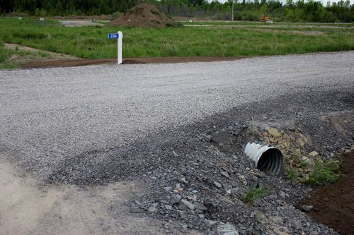 Culvert and Roadbed